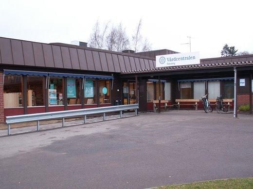 En bild på vårdcentralen i Ödeshög
